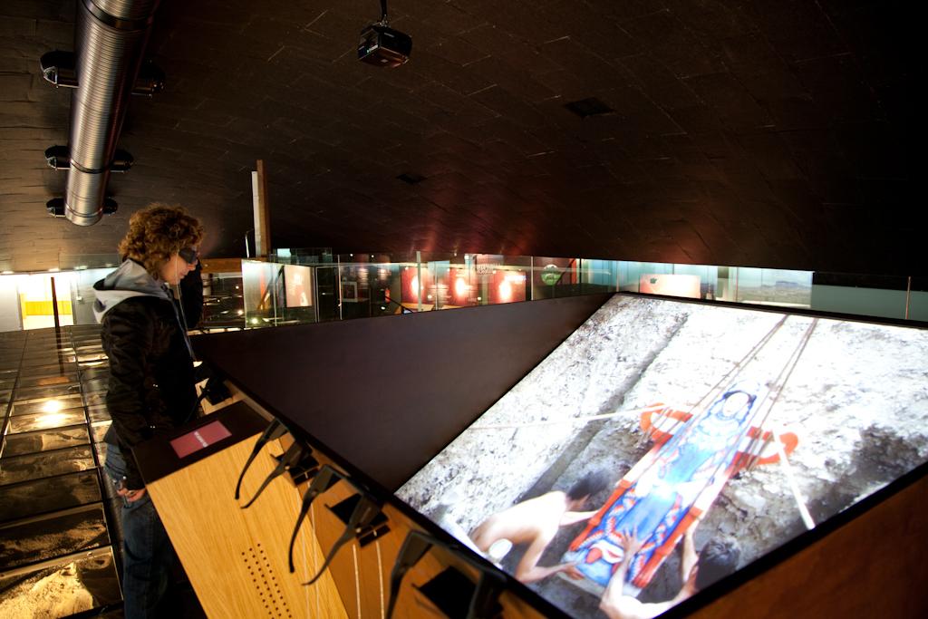 Proyectores y Monitores para museos
