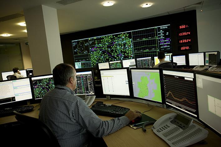 Pantallas y Proyectores para salas de control