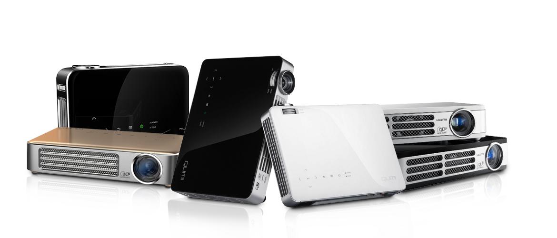 Proyectores portables y pequeños