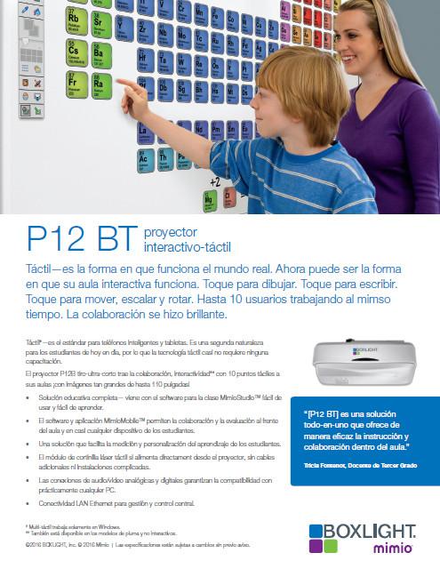 Proyector P12BTW