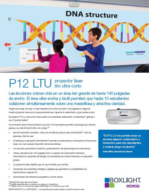 Proyector P12LTU