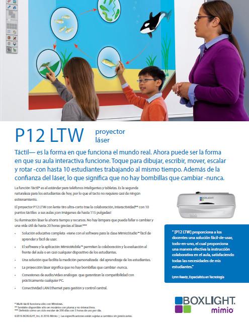 Proyector P12LTW