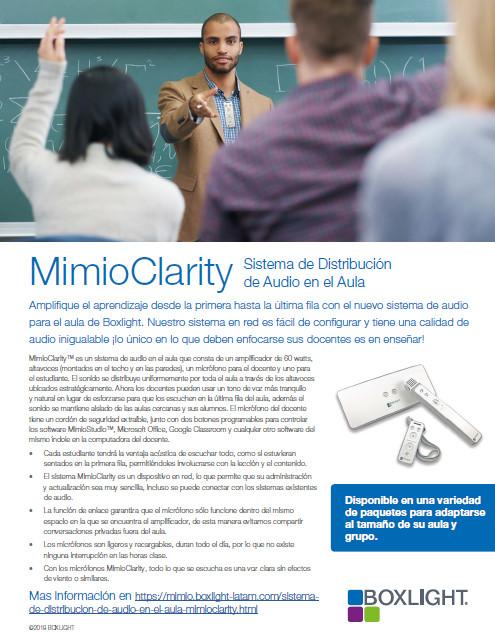 MimioClarity