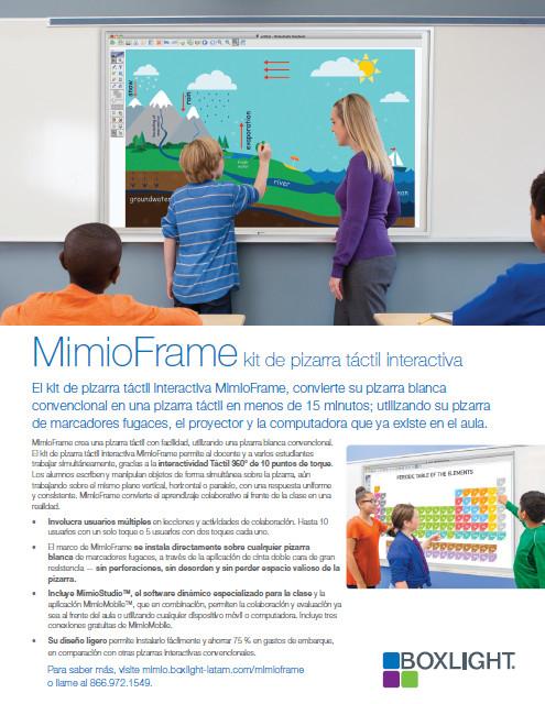 MimioFrame