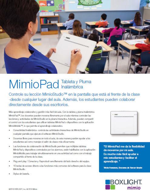 MimioPad 2