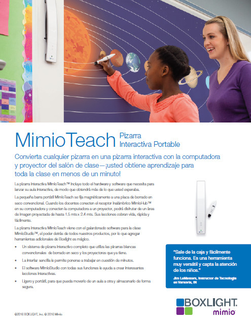 MimioTeach