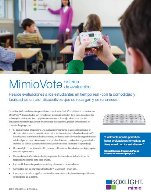 MimioVote
