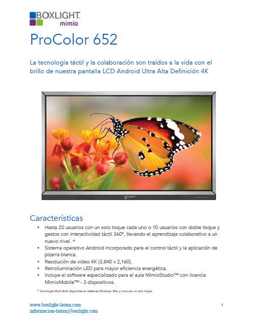 Procolor 652U