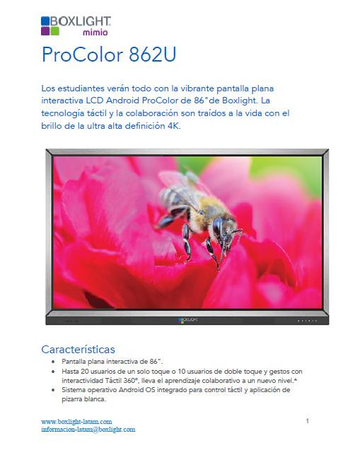 Procolor 862U