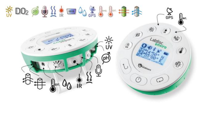 Sensores de laboratorio de medio ambiente