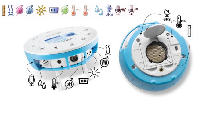 Descripción de sensores de labdisc Gensci