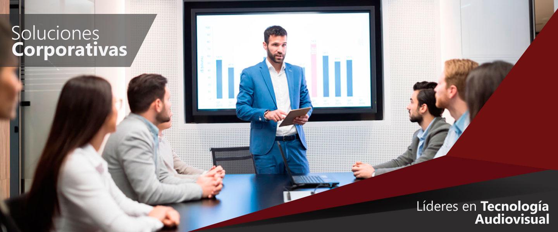 Soluciones Corporativas: Lideres en Tecnología Audiovisual