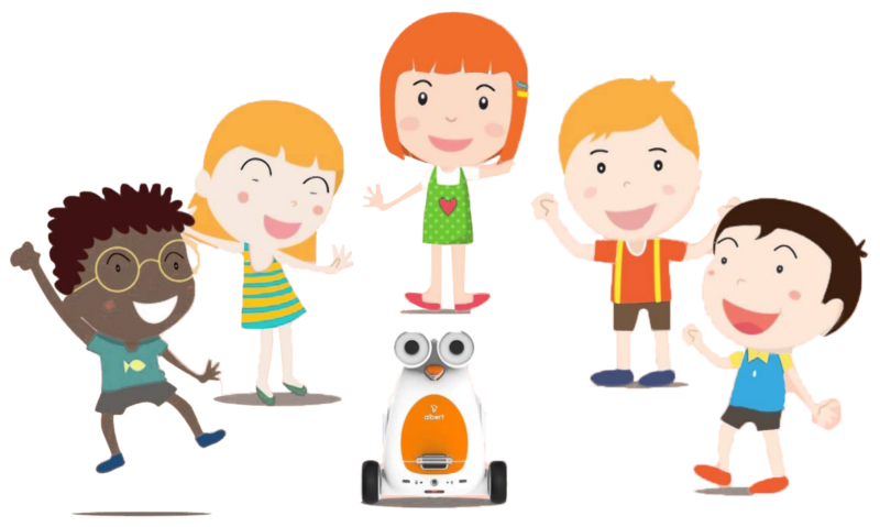 Albert Smart Robot Kids