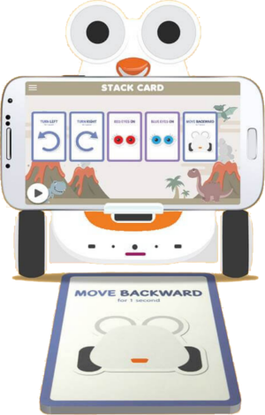 Albert Smart Robot Stack Cards