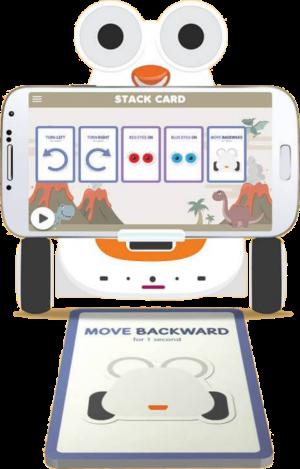 Albert Smart Robot Stack Cards