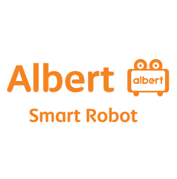 Logo Albert Smart Robot