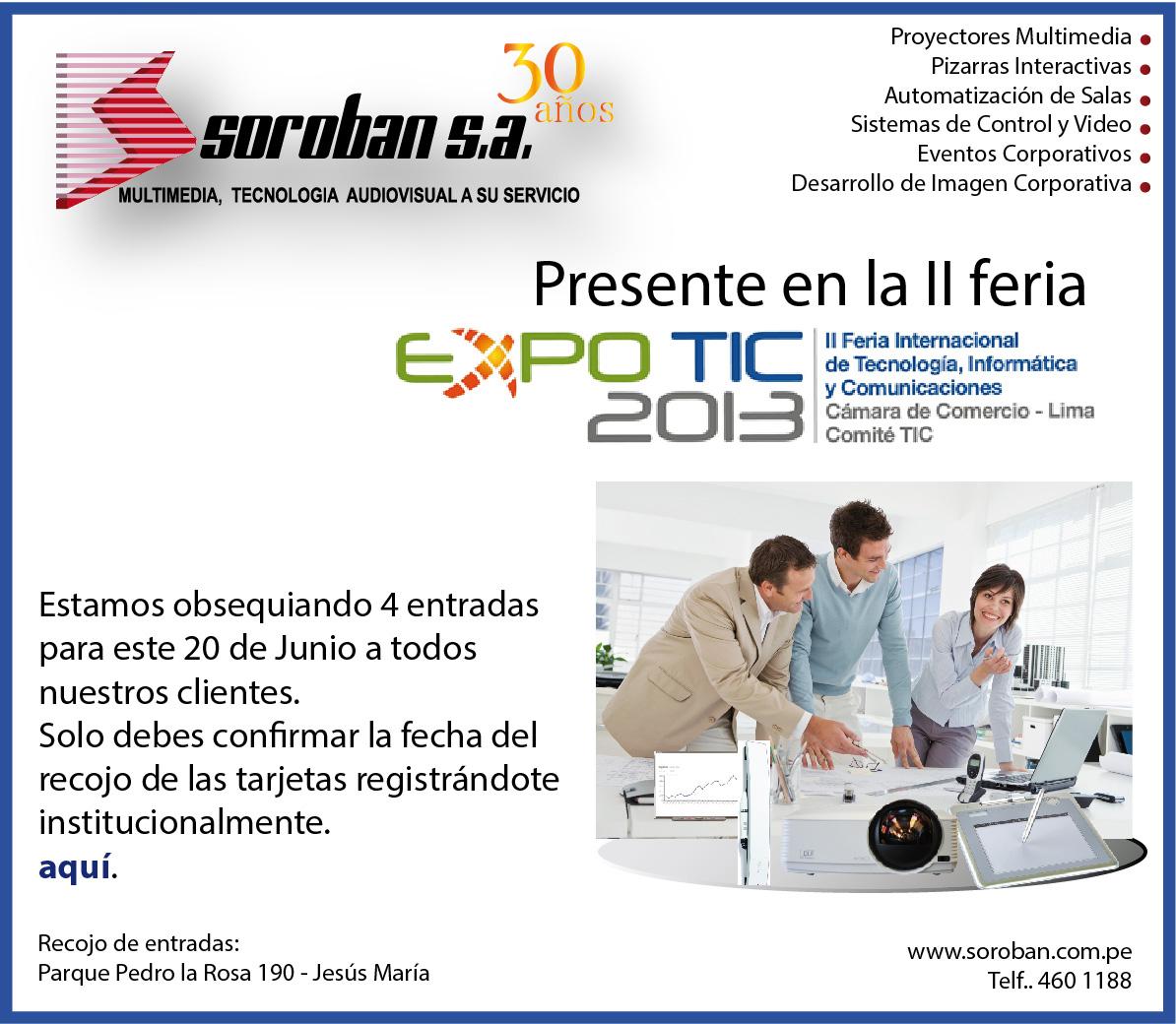 Feria Tecnológica EXPOTIC 2013,