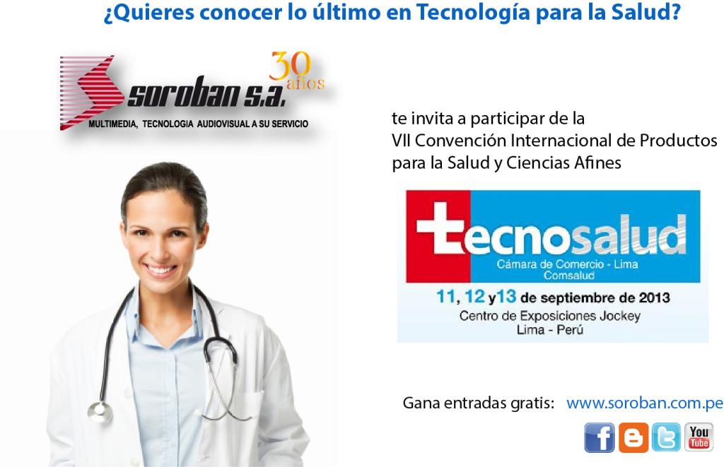 Tecnosalud 2013 – VII Convención Internacional de Productos para la Salud