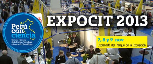 EXPOCIT 2013 – Semana Nacional de la Ciencia, Tecnología e Innovación Tecnológica