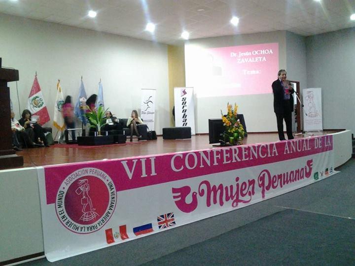 VII CONFERENCIA ANUAL DE LA MUJER PERUANA