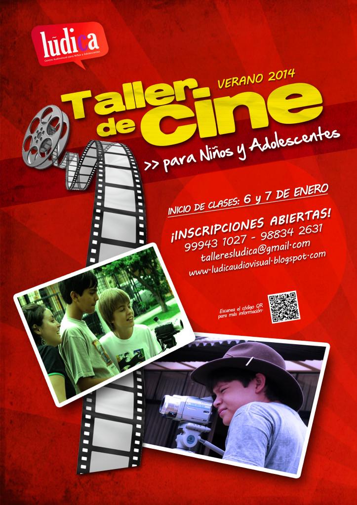 LÚDICA – Taller de Cine y Creatividad 2014 para Niños y Adolescentes