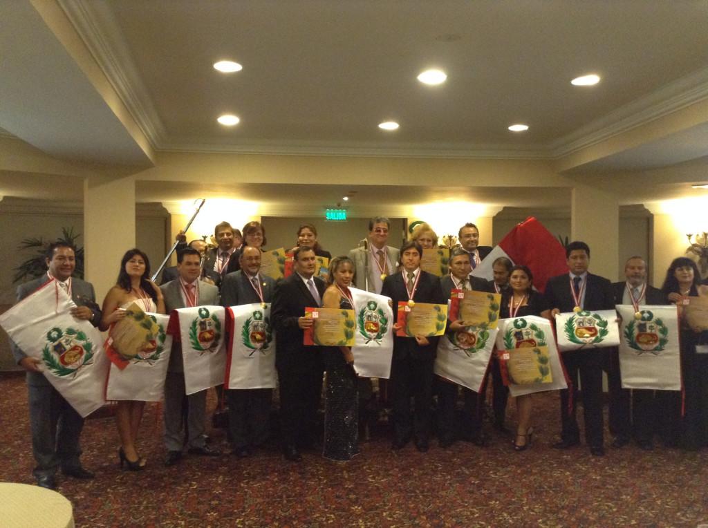 Premiación Empresa de Bandera Peruana - SOROBAN 2014