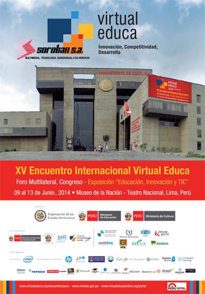 XV ENCUENTRO INTERNACIONAL VIRTUAL EDUCA – PERÚ 2014