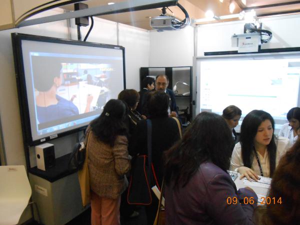 SOROBAN en el XV Encuentro Internacional Virtual Educa Perú 2014