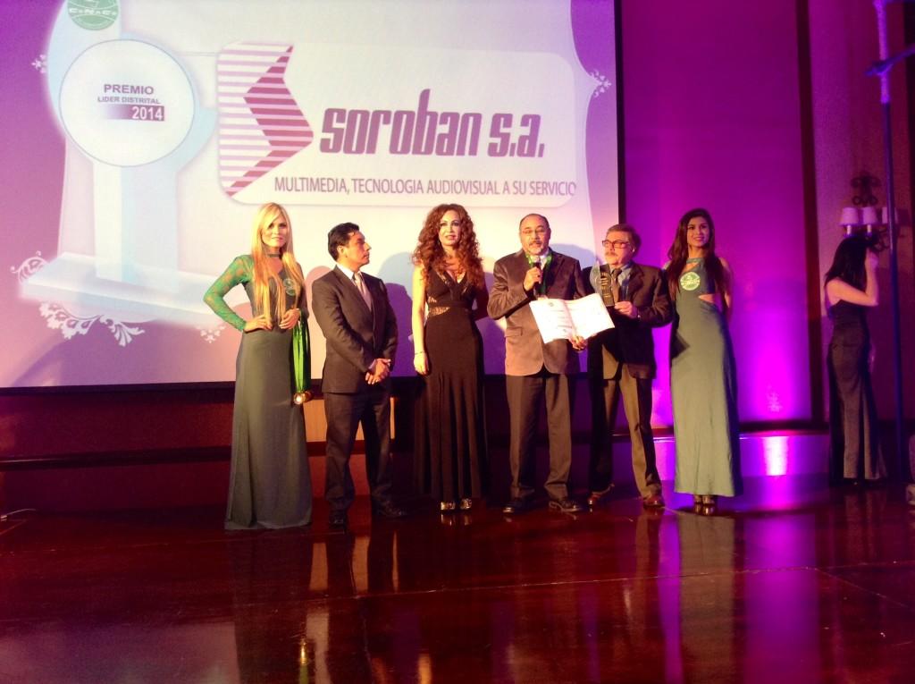 Premio CONACO 2014 a SOROBAN S.A.