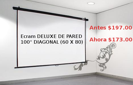 OUTLET: Ecram de Pared DELUXE