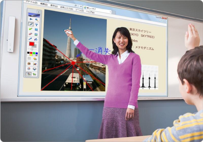 ¿Es posible que una pizarra interactiva sea portátil?