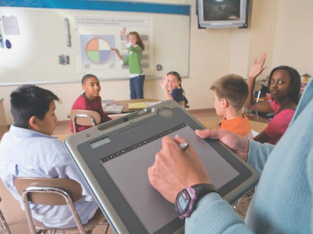 ¿Es posible dictar una clase desde cualquier parte del aula?