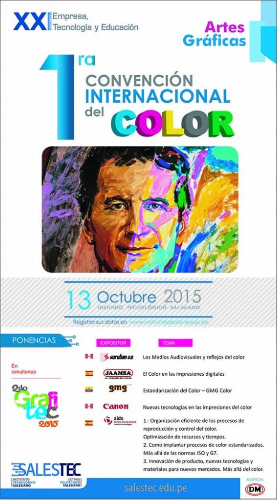 1RA CONVENCIÓN INTERNACIONAL DEL COLOR – SOROBAN 2015