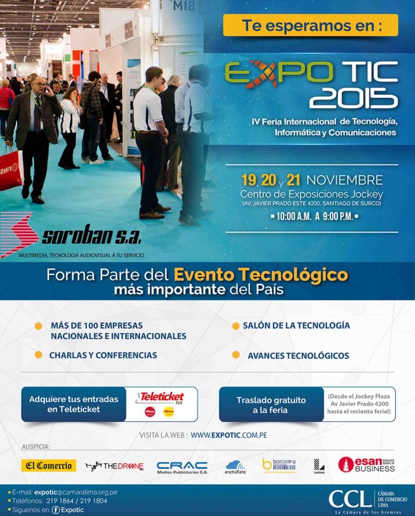 EXPOTIC 2015 – Feria Internacional de Tecnología, Informática y Comunicaciones