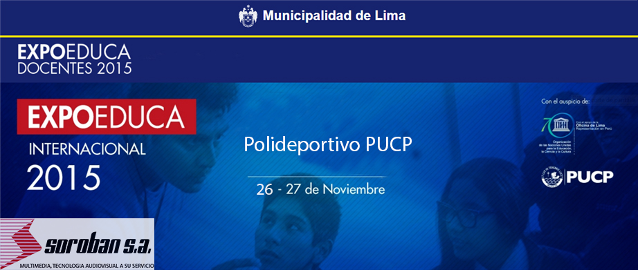EXPOEDUCA INTERNACIONAL – DOCENTES 2015