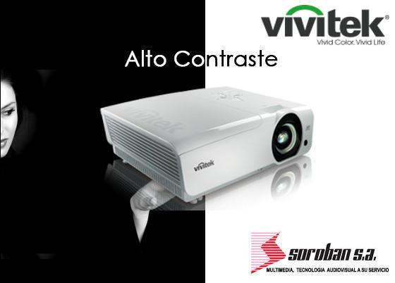 Proyectores Vivitek de Alto Contraste