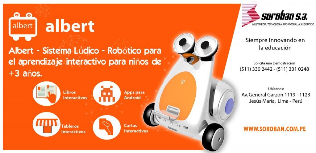 Albert: Sistema Lúdico – Robótico para el Aprendizaje Interactivo en niños