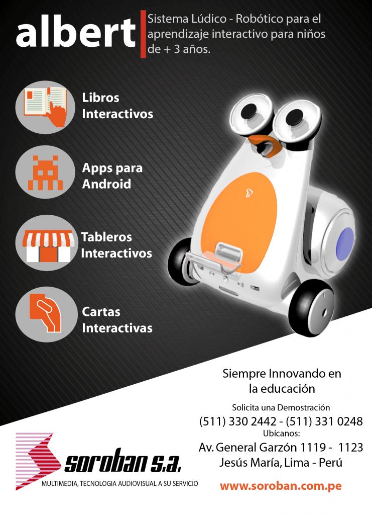 ALBERT Smart Robot, el complemento perfecto para los materiales educativos tradicionales