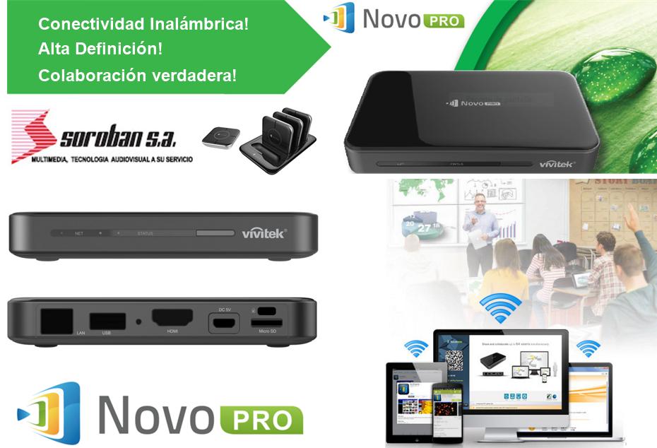NovoPro: Convierta su Proyector Multimedia en un Proyector Inalámbrico en Alta Definición