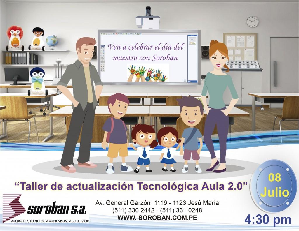 Taller de Actualización Tecnológica Aula 2.0: 'Sesión Especial por el día del Maestro'