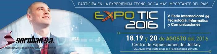 EXPOTIC 2016 – Feria Internacional de Tecnología, Informática y Comunicaciones