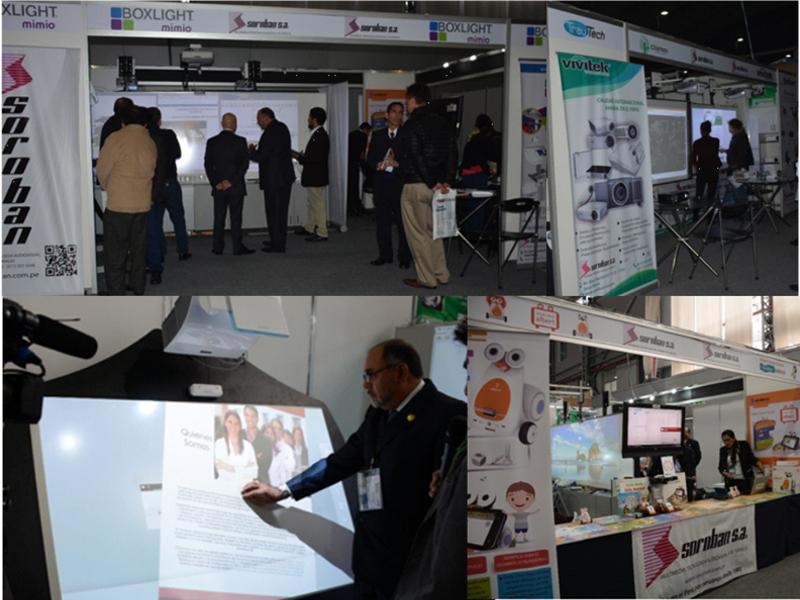 Soroban presentó lo último en Tecnología Multimedia e Interactiva en el marco del EXPOTIC 2016