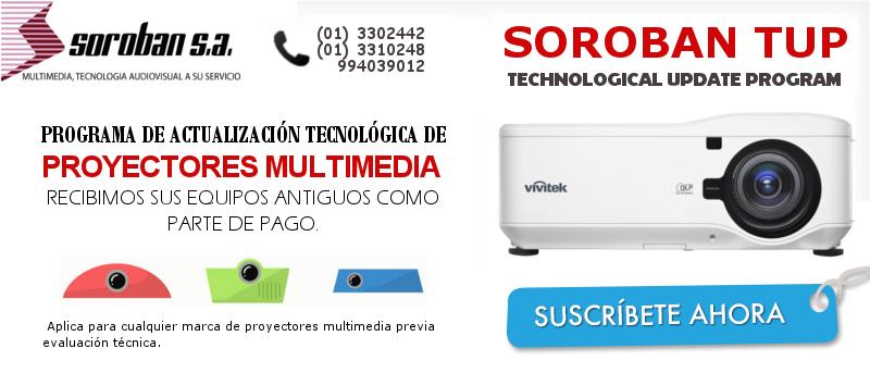 Programa de Actualización Tecnológica – SOROBAN TUP