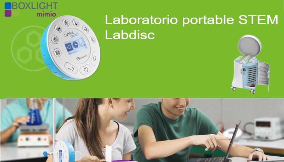 Boxlight Mimio: Laboratorio de Ciencias en la palma de tus manos con Labdisc