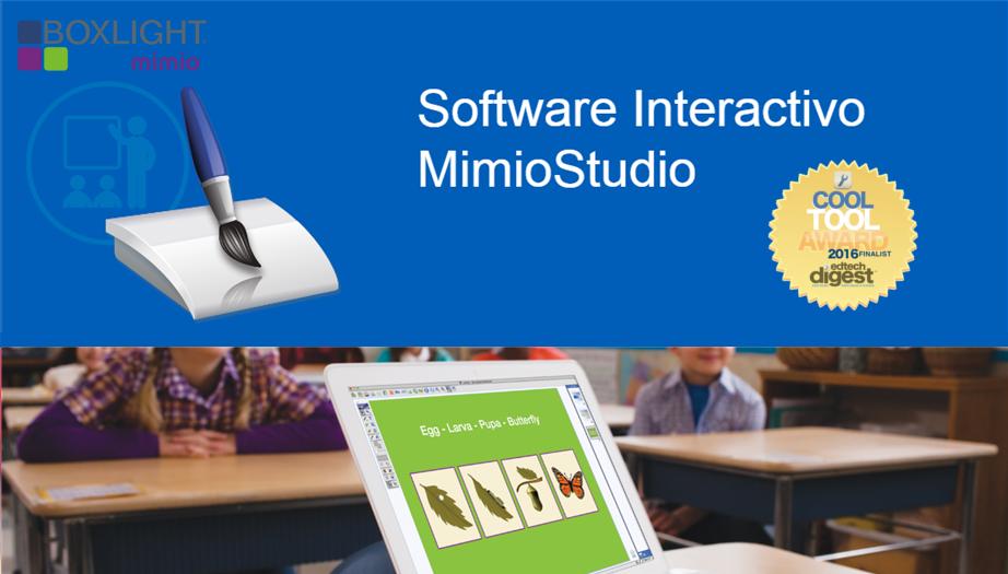 Boxlight Mimio: El Galardonado Software Interactivo MimioStudio™ en la Educación