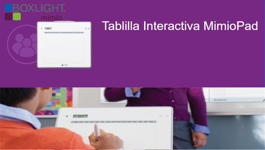 Boxlight Mimio: El Control Total de la Clase con la Tablilla Inalámbrica MimioPad