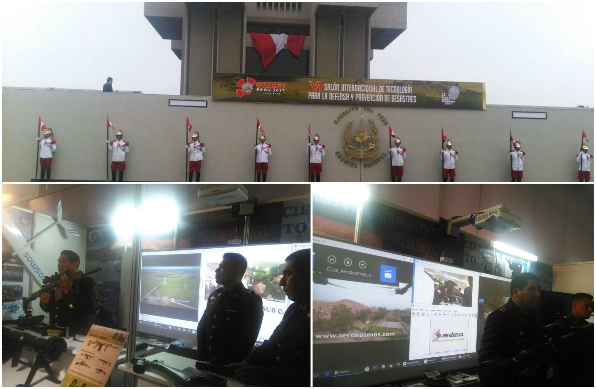 Soroban en SITDEF 2017 Ejército del Perú