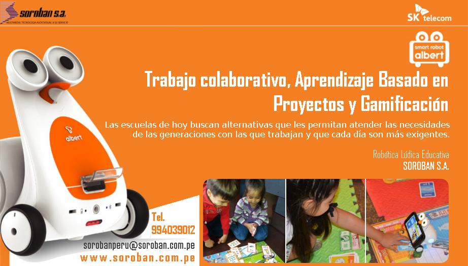 Robótica Lúdica Educativa: Trabajo Colaborativo, Aprendizaje Basado en Proyectos y Gamificación
