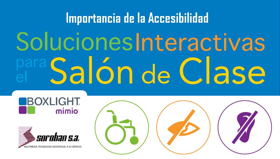 Boxlight Mimio: Importancia de la Accesibilidad