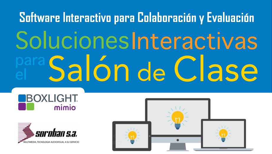 Boxlight Mimio: Software Interactivo para Colaboración y Evaluación